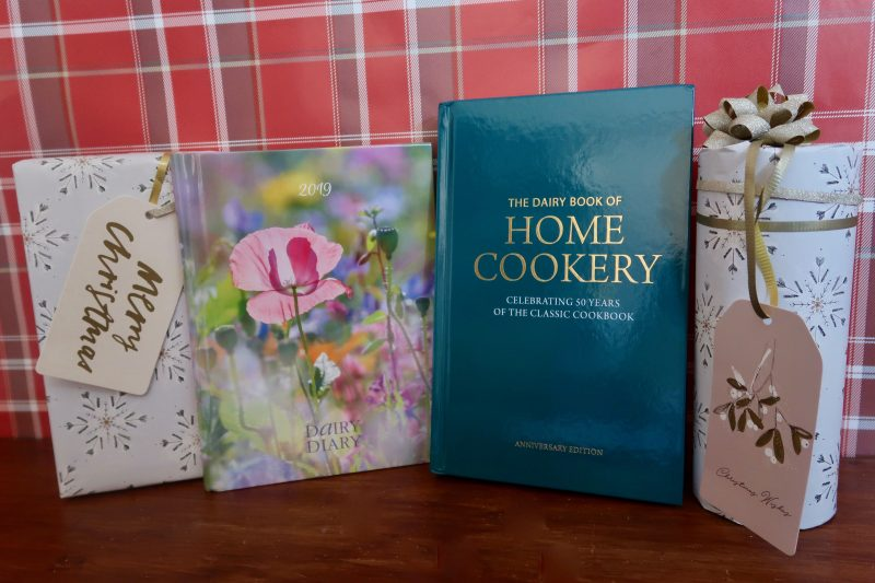 Dairy Diary cookbook and diary