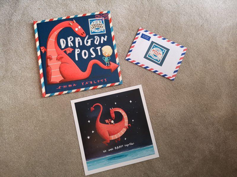 Dragon Post By Emma Yarlett