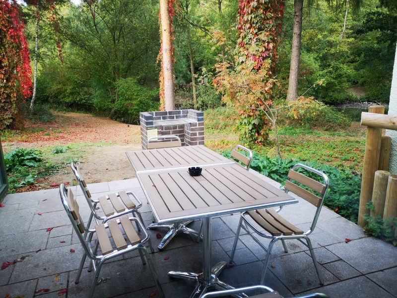 Center Parcs 3 Bedroom New Woodland Lodge outdoor area