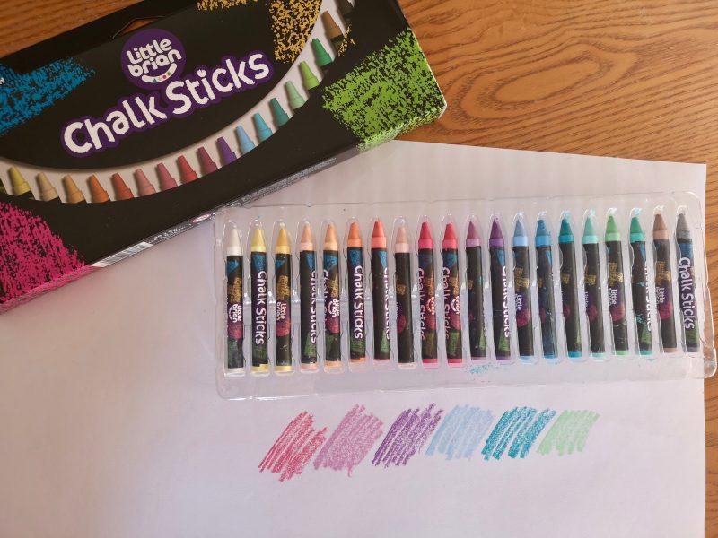Little Brian Chalk Sticks