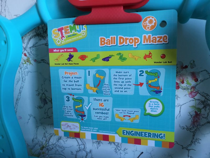 Little Tikes STEM Jr Wonder Lab experiment card
