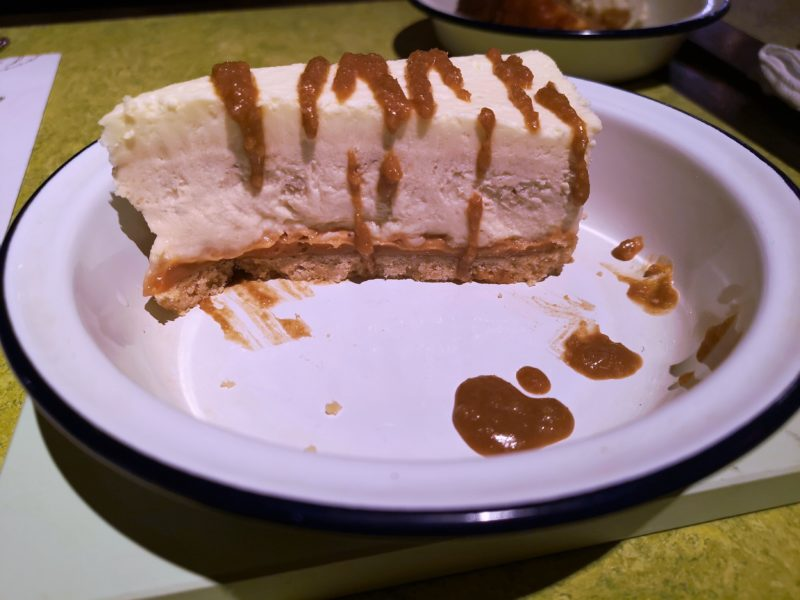 Turtle Bay Banana and Toffee Cheesecake