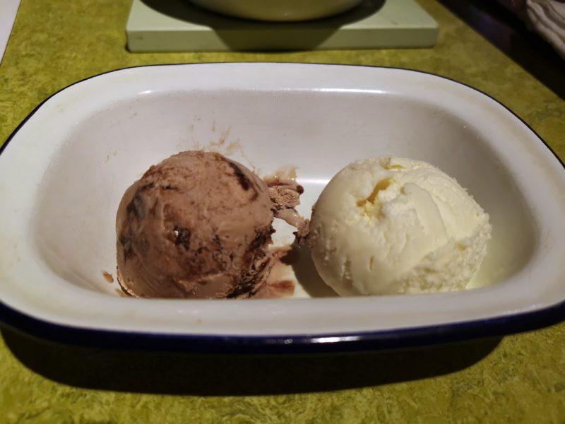 Turtle Bay Vanilla and Light Chocolate Ice Cream