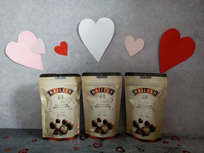 Baileys Chocolates salted caramel pouches
