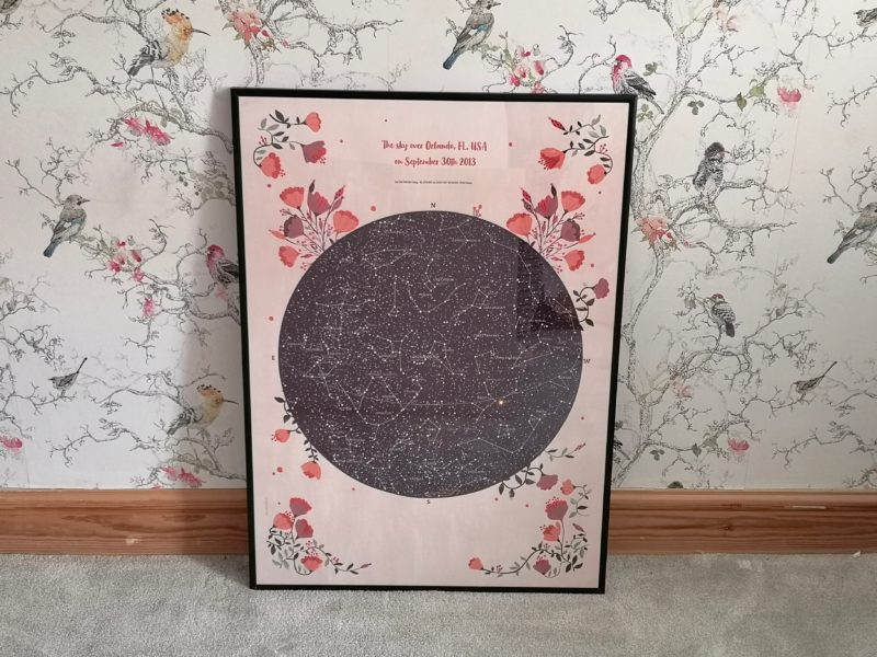 GreaterSkies Romantic Star Map