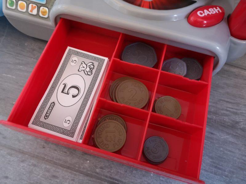 Casdon Supermarket Till money drawer