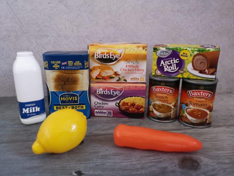 Casdon Supermarket Till play food