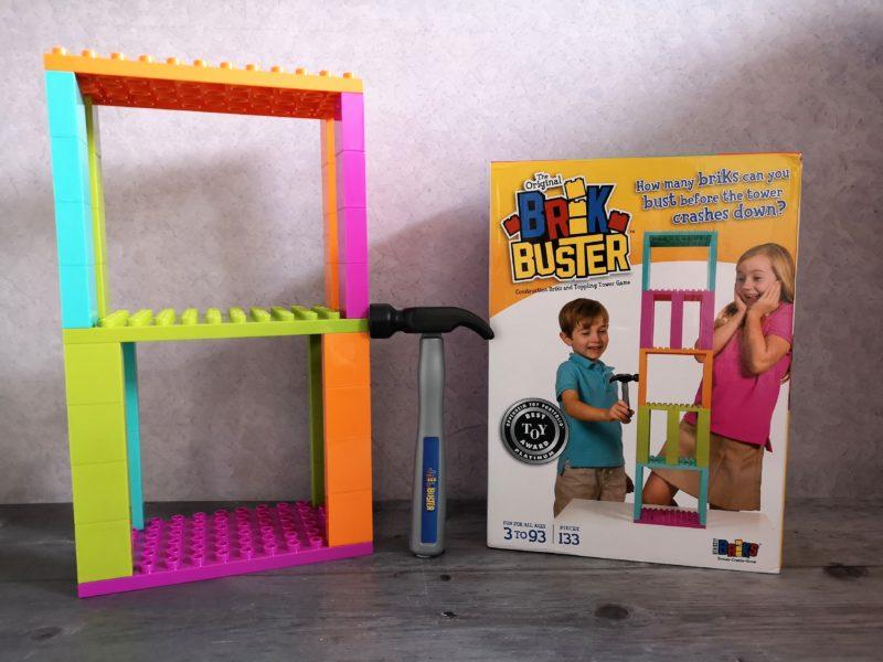 Brik Buster Tower Toppling Game