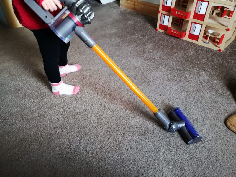 Casdon Toy Dyson Cord-Free Vacuum Cleaner