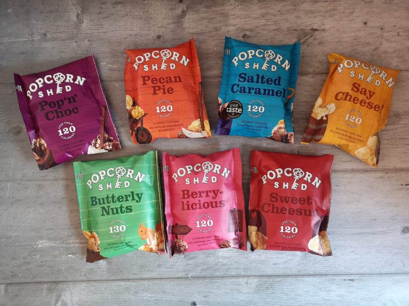 Popcorn Shed snack packs