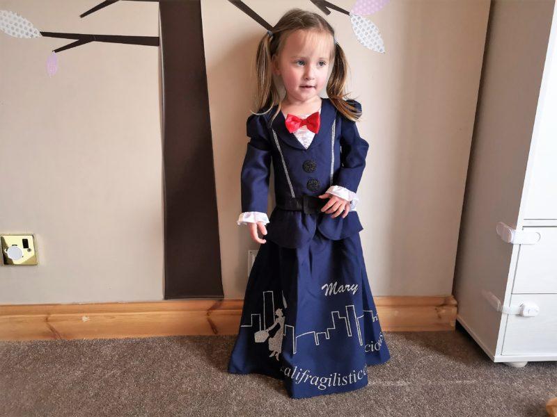 Matalan Mary Poppins Costume