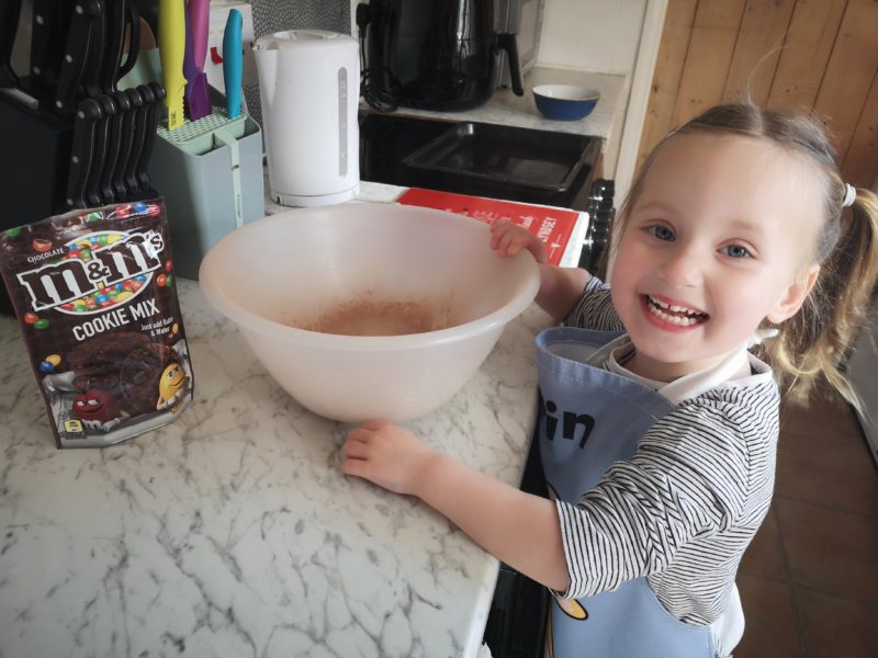 Erin baking