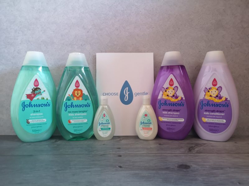 Re-branded Johnson's products