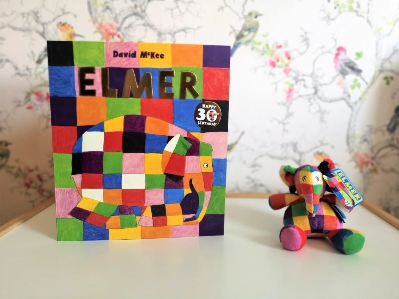 Elmer book and rattle