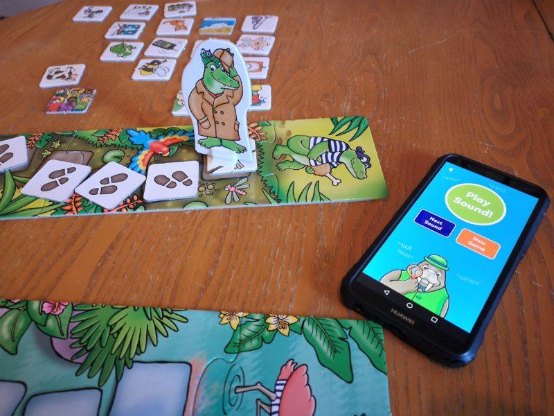Sound Detective game pieces