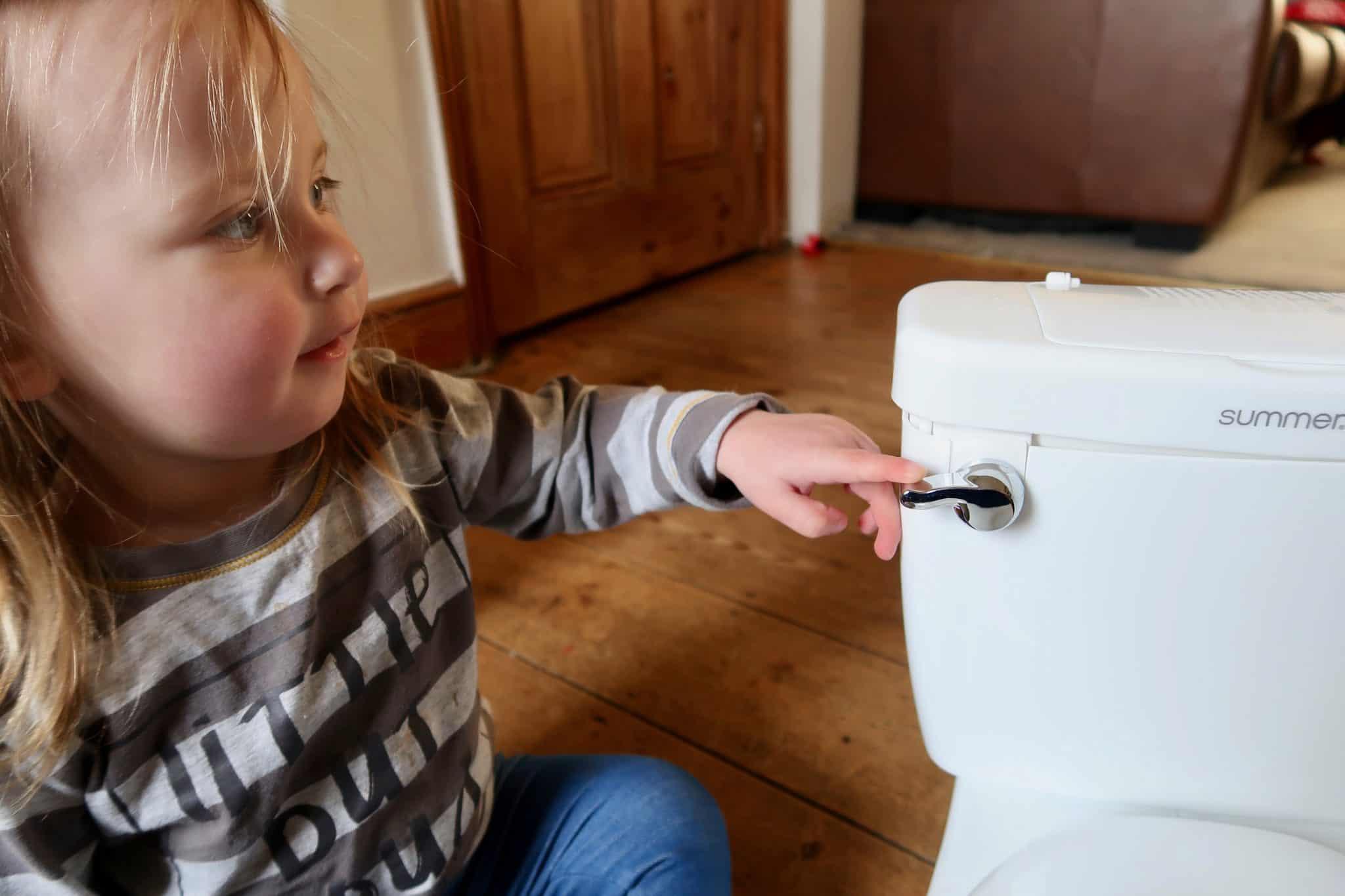 Preparing For Toilet Training