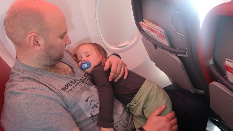 Flying With A Toddler For The First Time