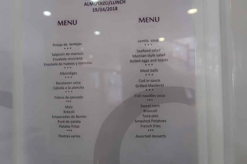 All inclusive lunch menu