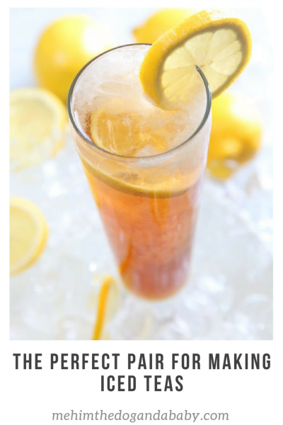 The Perfect Pair For Making Iced Teas