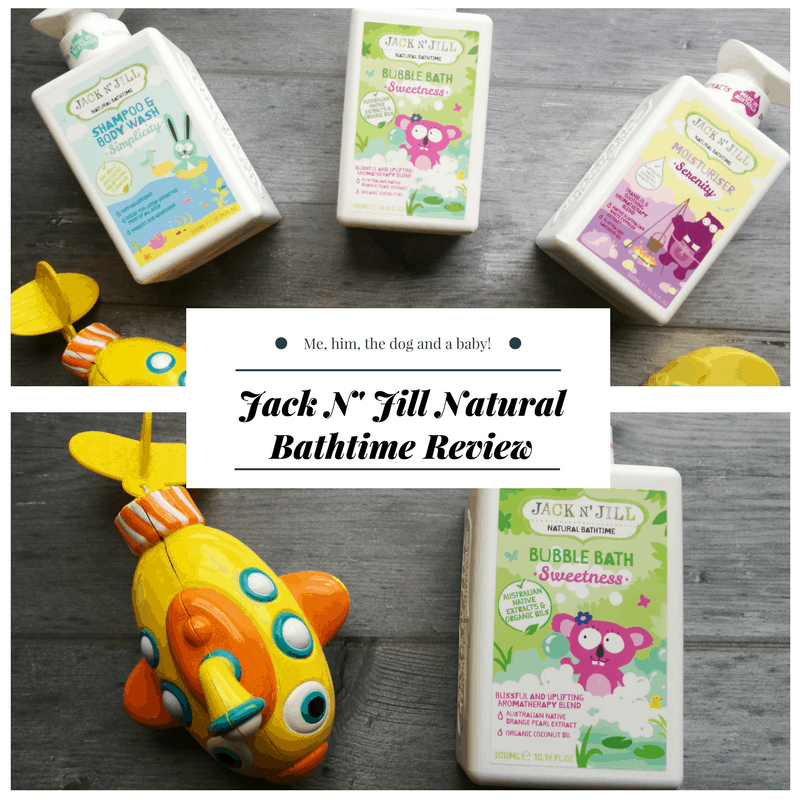 Jack N' Jill Natural Bathtime