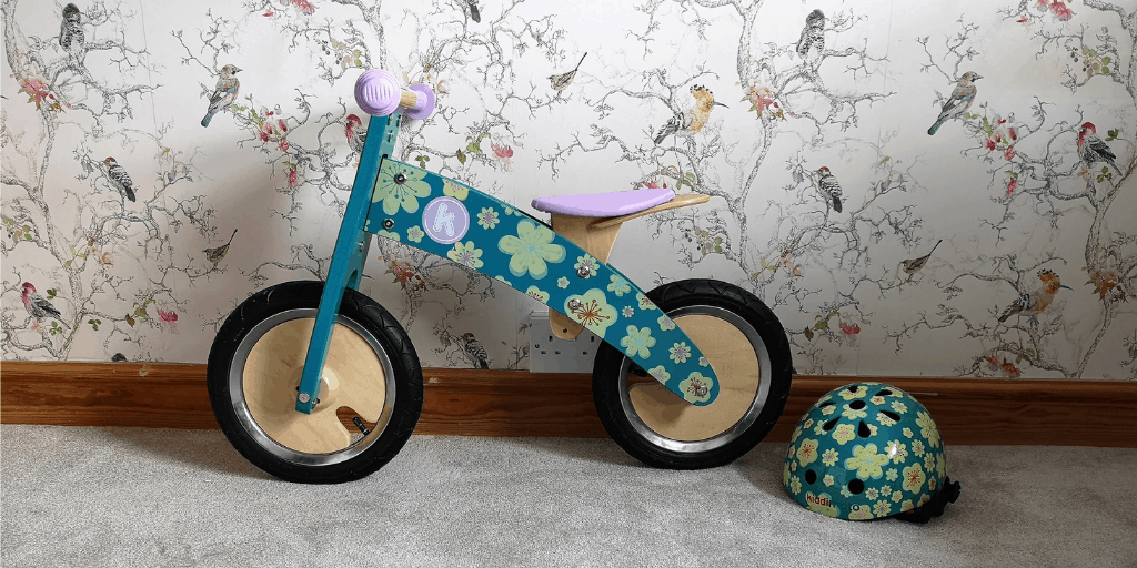Kiddimoto Kurve Balance Bike And Helmet Review
