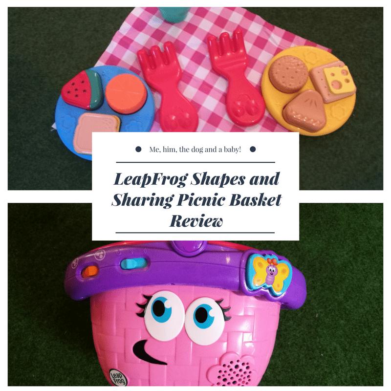 LeapFrog Shapes and Sharing Picnic Basket